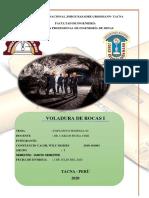 TRABAJO DE VOLADURA