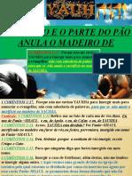 ESTUDO SOBRE EMERSÃO ANULAR O MADEIRO DE YAUSHAa