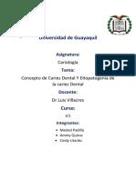 Cariologia grupo 1