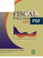 Pakistan Fiscal Policy