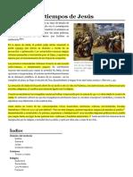 Palestina en tiempos de Jesús - Wikipedia, la enciclopedia libre