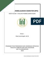 Cover RPS Evaluasi pendidikan