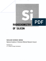 The Radio Chemistry of Silicon.us AEC