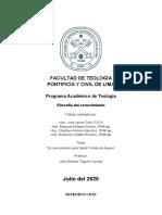El conocimiento en Santo Tomás - Exposición.docx