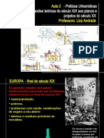 AULA 2 IPOG - PRÁTICAS URBANÍSTICAS - SÉCULO XVIII E SÉCULO XIX