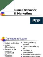 2 Consumer Behavior & Marketing