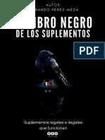 EL LIBRO NEGRO DE LOS SUPLEMENTOS - Fernando Pérez Meza