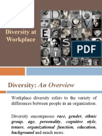Managing Diversity at Workplace