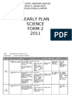 Yearly Plan Science f2