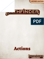 Pathfinder Actions