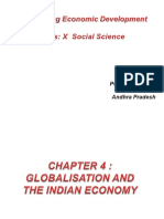 Globalisation and the Indian Economy1