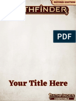 Pathfinder 2nd Edition Homebrew Template _ GM Binder