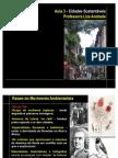 AULA 3  IPOG - Ag 21 para Cidades Sustentáveis - movimento ambientailista
