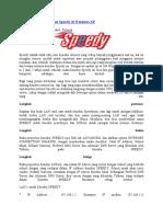 Sharing Koneksi Internet Speedy Di Windows XP