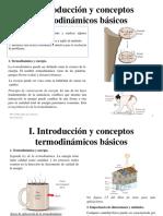Clase 1 Introduccion y Conceptos Termodinamicos Basicos