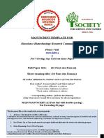 BBRC-Manuscript Format