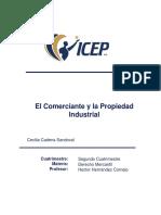 EL COMERCIANTE Y AL PROPIEDAD INDUSTRIAL