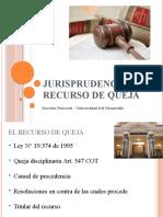 Jurisprudencia del recurso de queja- Profesor Alejandro Huberman.pptx