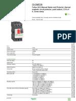 GV2ME08 Manual Starter