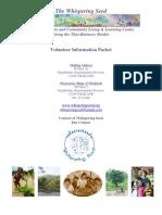 WS Volunteer Packet 2008