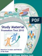 Study Material 2010