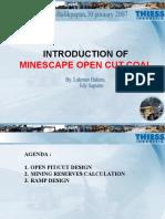Open Cut Introduction