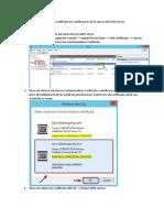 23 . Renew Certificate of ADFS and WAP server.