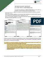 Instrucciones para  cumplimentar y obtener el Informe valorativo individual