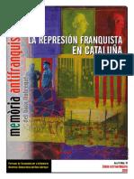 Revista mèmoria antifranquista del Baix Llobregat. Año 14. Núm 19.
