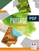 Brochure Plans de paysage