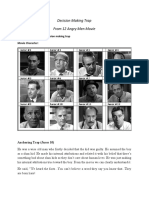 Decision Making Trap-12 Angry Men
