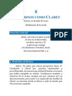 Cuaderno 8. Peregrinos como Claret
