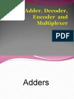 4d Digital System-Adder Encoder Decoder and Mux.ppt