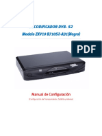 DECODIFICADOR ZTE ZXV10 B710S -A31-NEGRO-_Hispansat terminado