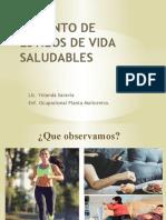 Fomento de Estilos de Vida Saludables. Viernes 17