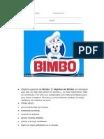 Bimbo proyecto