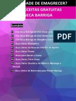 10 RECEITAS SECA BARRIGA