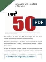 50 ideias de negócios para abrir com pouco dinheiro.pdf