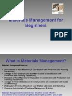 Materials Managment (EIILM)