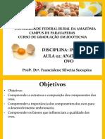 Aula 02 - Anatomia do ovo