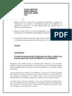 INFORME DESCRIPCION DEL MERCADO