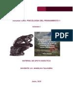 SEMANA 01  - PSICOLOGIA DEL PENSAMIENTO 1