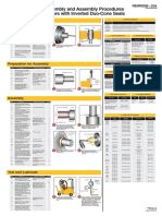 Disassembly and Assembly Procedures for Rollers with Inverted Duo-Cone Seals