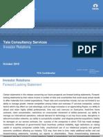 TCS Investor Presentation October 2010