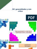 PAMEC Generalidades Y Ruta Crítica
