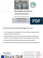 Chapter 17a_Microbial spoilage and preservation of pharmaceutical products