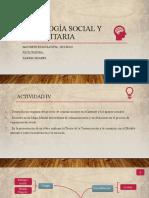 TAREA IV PSICOLOGIA SOCIAL Y COM