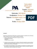 TAREA V PSICOLOGIA SOCIAL Y COM
