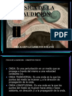 FISICA DE LA AUDICION 2015