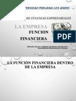 LA EMPRESA FUNCION FINANCIERA
